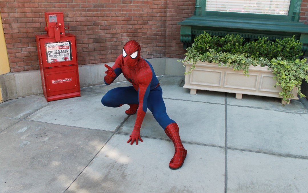 Marvel Characters at Disney's California Adventure