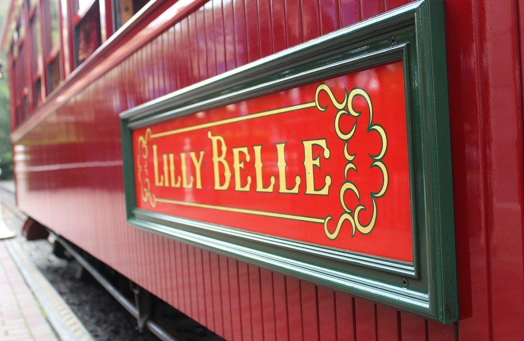 Hidden Disney History: The Amazing Lilly Belle Train Car